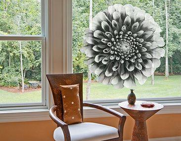 Produktfoto Fensterfolie - Fenstersticker No.595 Aster II - Fensterbilder