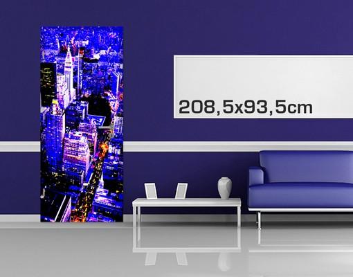 Produktfoto Türtapete New York -  Retro NYC