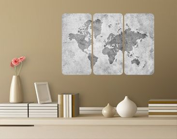 Product picture Wall Mural Vintage Worldmap II...