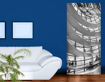 Produktfoto Türtapete Berlin - Im Berliner Reichstag II