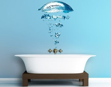 Produktfoto Wall Decal no.596 Water Jellyfish