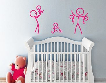 Product picture Wall Decal no.IF5 Family Bliss