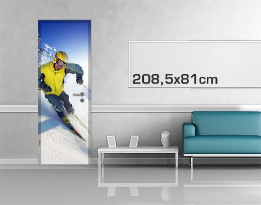 Produktfoto TürTapete Apres Ski