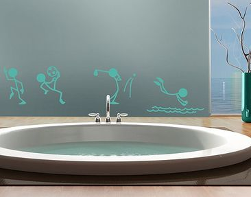 Produktfoto Wall Decal no.RS103 Stick Figures...