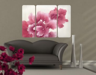 Product picture Wall Mural Artistic Flora I Triptych II
