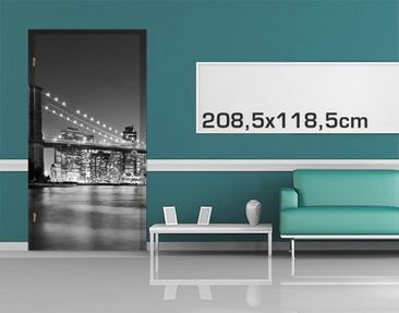 Product picture Door Photo Wall Mural Nighttime...