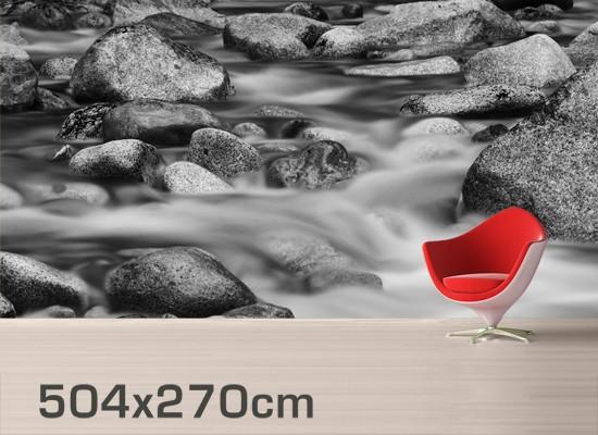 Produktfoto Selbstklebende Tapete - Fototapete Fluss in Kanada II