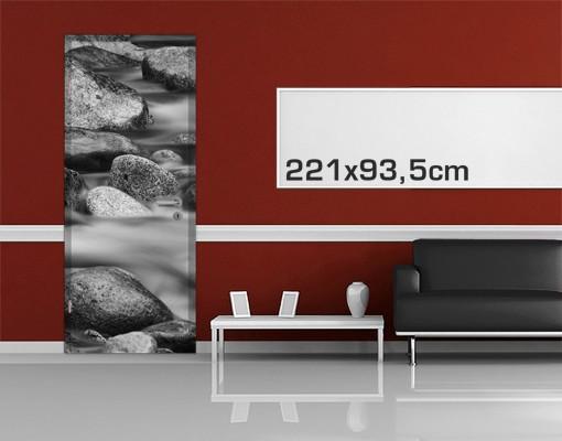 Produktfoto TürTapete Fluss in Kanada II