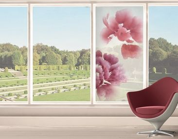 Product picture Window Mural Artistic Flora II