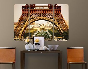Produktfoto Wall Mural French View Triptych II