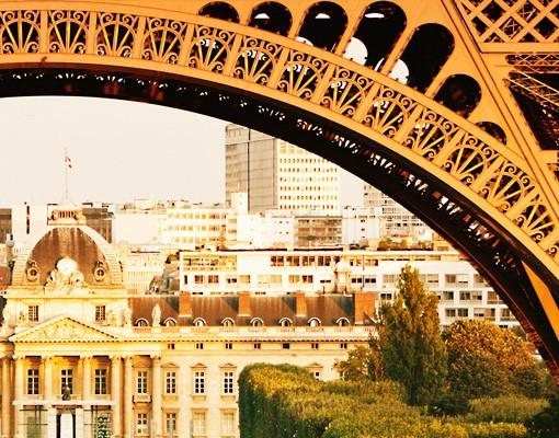 Produktfoto Fensterfolie - Sichtschutz Fenster Französischer Ausblick - Fensterbilder