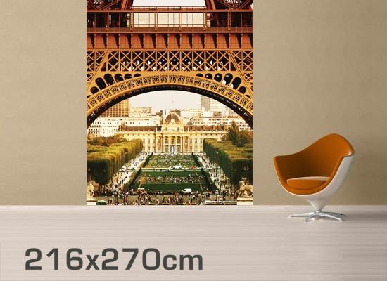 Produktfoto Selbstklebende Paris Tapete -...