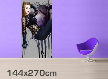 Product picture Photo Wall Mural Lady In Black