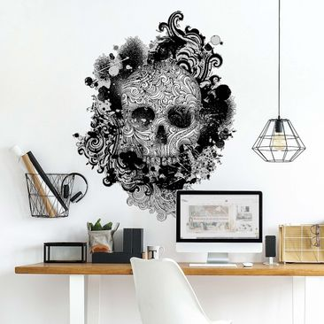 Product picture Wall Decal no.503 Skull