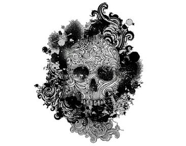 Product picture Window Sticker no.503 Skull