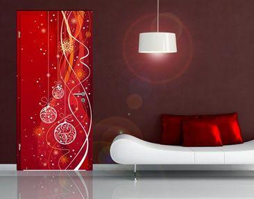 Produktfoto Door Photo Wall Mural Christmas...