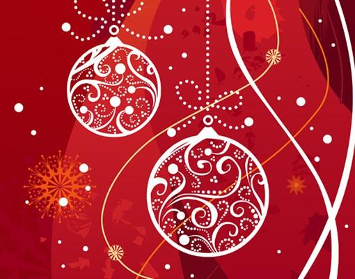 Produktfoto Selbstklebendes Wandbild Weihnachtliche Dekoration