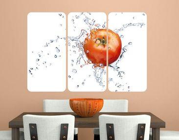 Produktfoto Wall Mural Fresh Tomato Triptych I