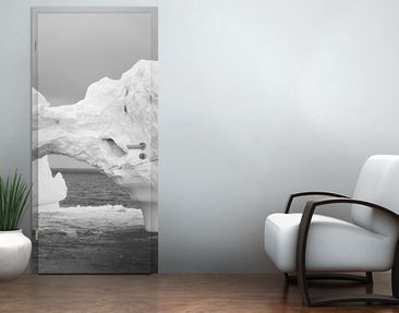 Product picture Door Photo Wall Mural Antarctic Iceberg...