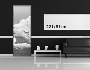 Product picture Door Photo Wall Mural Antarctic Iceberg...