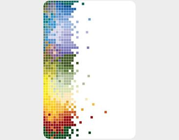 Product picture Wall Mural Colourful Pixel