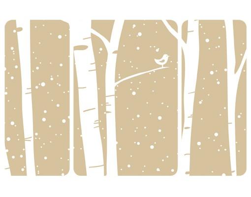 Produktfoto Selbstklebendes Wandbild Schneekonzert...
