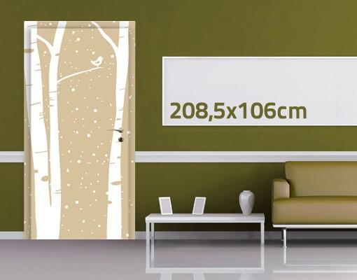 Produktfoto Türtapete Wald selbstklebend -...