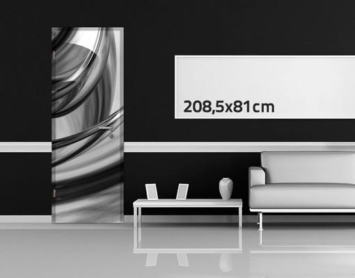 Produktfoto 3D Türtapete selbstklebend - Illusionary II