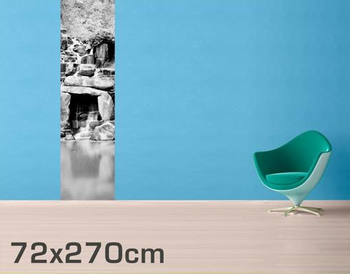 tapete mit steinmuster selbstklebende fototapete wald wasserfall ii. Black Bedroom Furniture Sets. Home Design Ideas