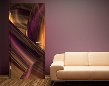 Product picture Door Photo Wall Mural Enchanted Fire