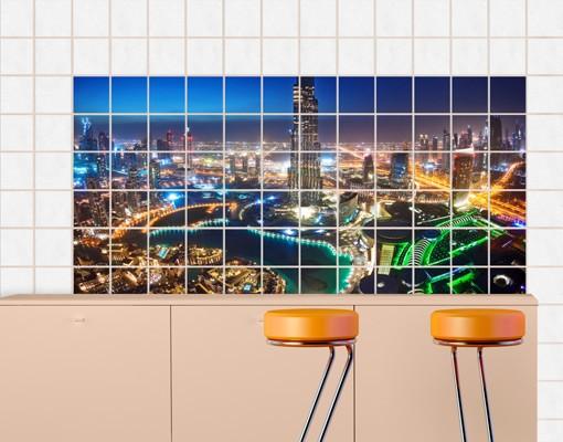 Produktfoto Fliesenbild Dubai Marina