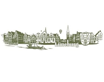 Product picture Wall Decal no.FB83 Lüneburg Skyline