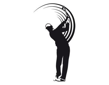 Product picture Wall Decal no.UL743 Golfer
