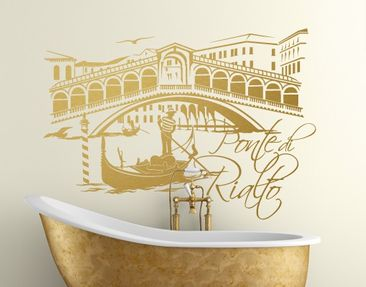 Produktfoto Wall Decal no.FB91 Ponte Di Rialto