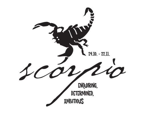 Produktfoto Wandtattoo No.UL757 Zodiac Sign Scorpio