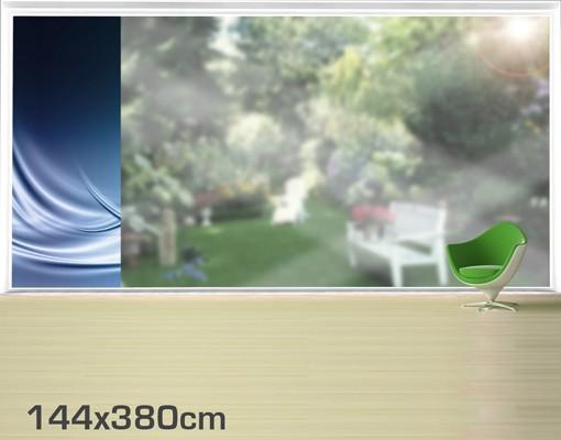 Produktfoto Fensterfolie - XXL Fensterbild Abstract Design - Fenster Sichtschutz