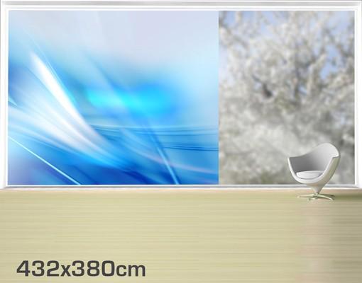 Produktfoto Fensterfolie - XXL Fensterbild Aquatic - Fenster Sichtschutz