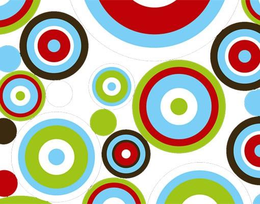 Produktfoto Fensterfolie - XXL Fensterbild Abstract - Fenster Sichtschutz