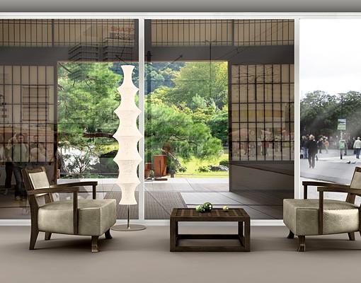 Produktfoto Fensterfolie - XXL Fensterbild Dojo in Eintracht - Fenster Sichtschutz