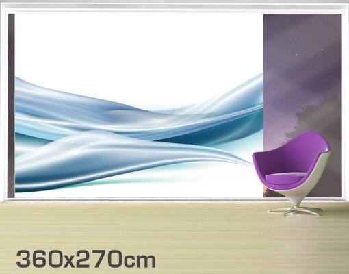 Produktfoto Fensterfolie - XXL Fensterbild Blue Dust - Fenster Sichtschutz