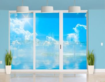 Product picture XXL Window Mural Above Sea Level