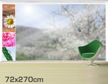 Product picture XXL Window Mural Spring Impression