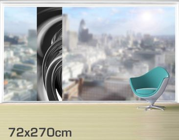 Product picture XXL Window Mural Fantastic Burning II