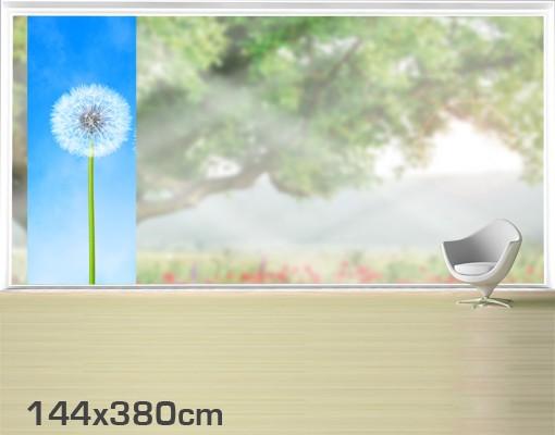 Produktfoto Fensterfolie - XXL Fensterbild Flying Seeds - Fenster Sichtschutz