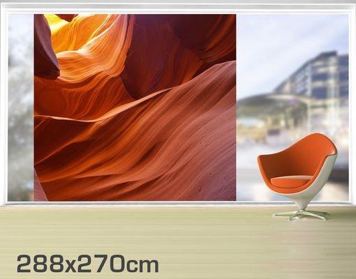 Produktfoto Fensterfolie - XXL Fensterbild Inner Canyon - Fenster Sichtschutz