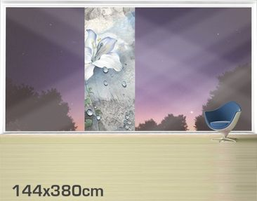 Product picture XXL Window Mural Tears Of A Lily