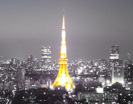Produktfoto Fensterfolie - XXL Fensterbild Tokio - Fenster Sichtschutz