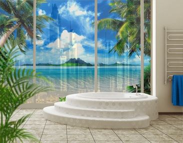 Produktfoto XXL Window Mural Dream of Holiday