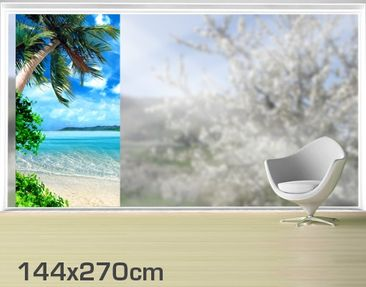 Product picture XXL Window Mural Dream of Holiday