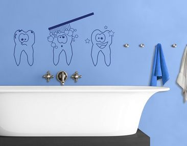 Produktfoto Wall Decal no.1100 Toothies